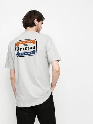Brixton Quill T-shirt (silver)