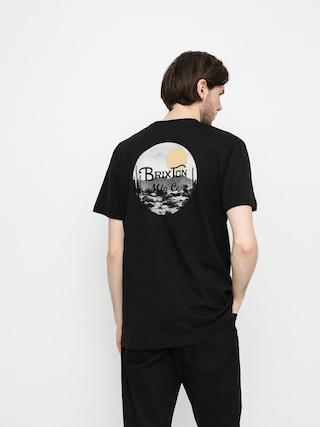 Brixton Wheeler II T-shirt (black/blonde)