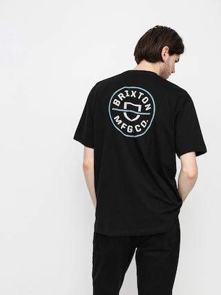 Brixton Crest II T-shirt (black/marine blue)