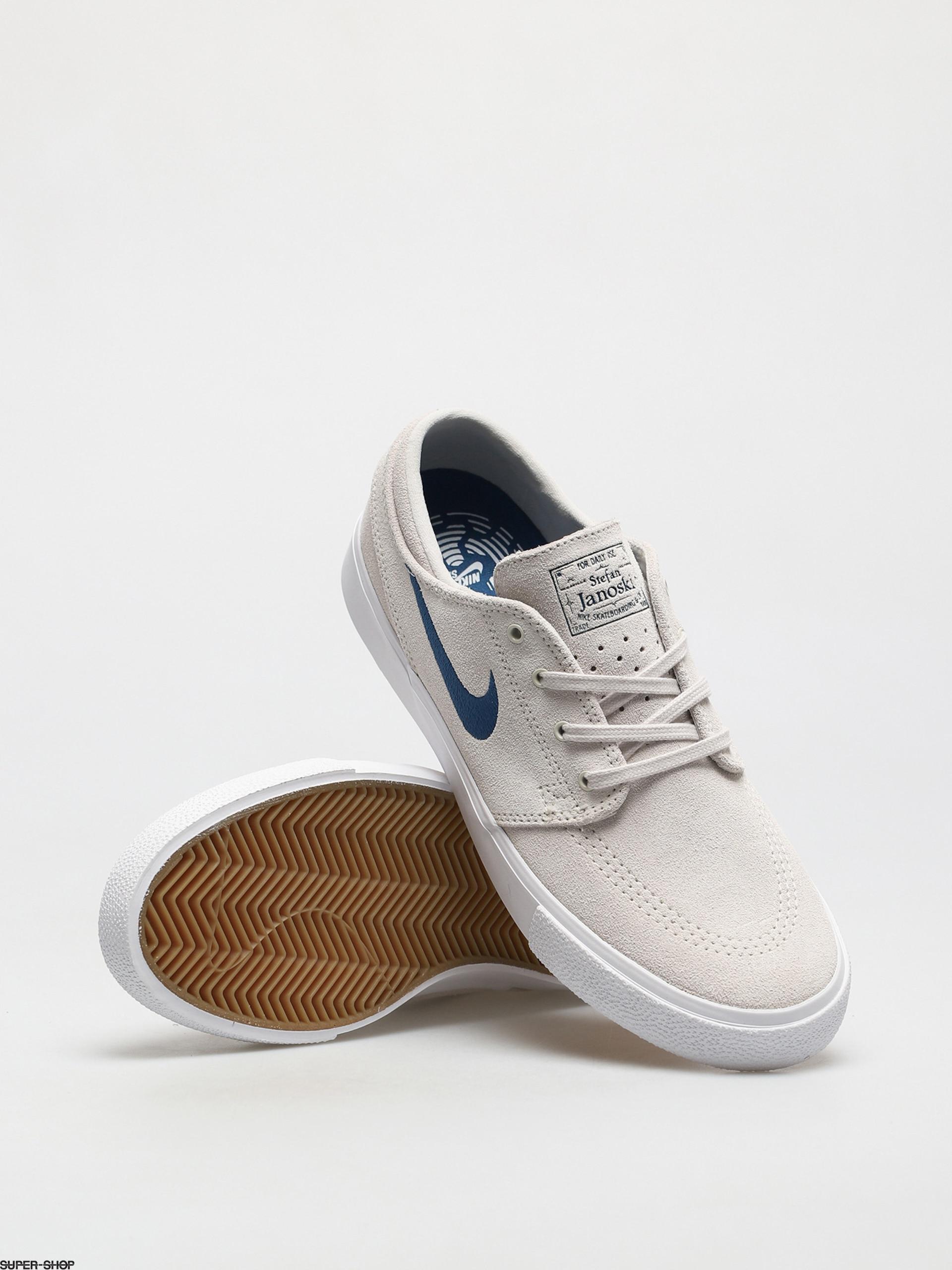 Nike SB Zoom Stefan Janoski RM Shoes (summit white/court blue ...