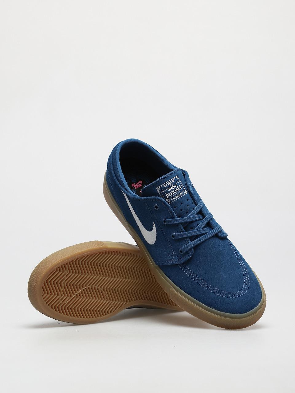 Nike SB Zoom Stefan Janoski RM Shoes (court blue/white court blue)