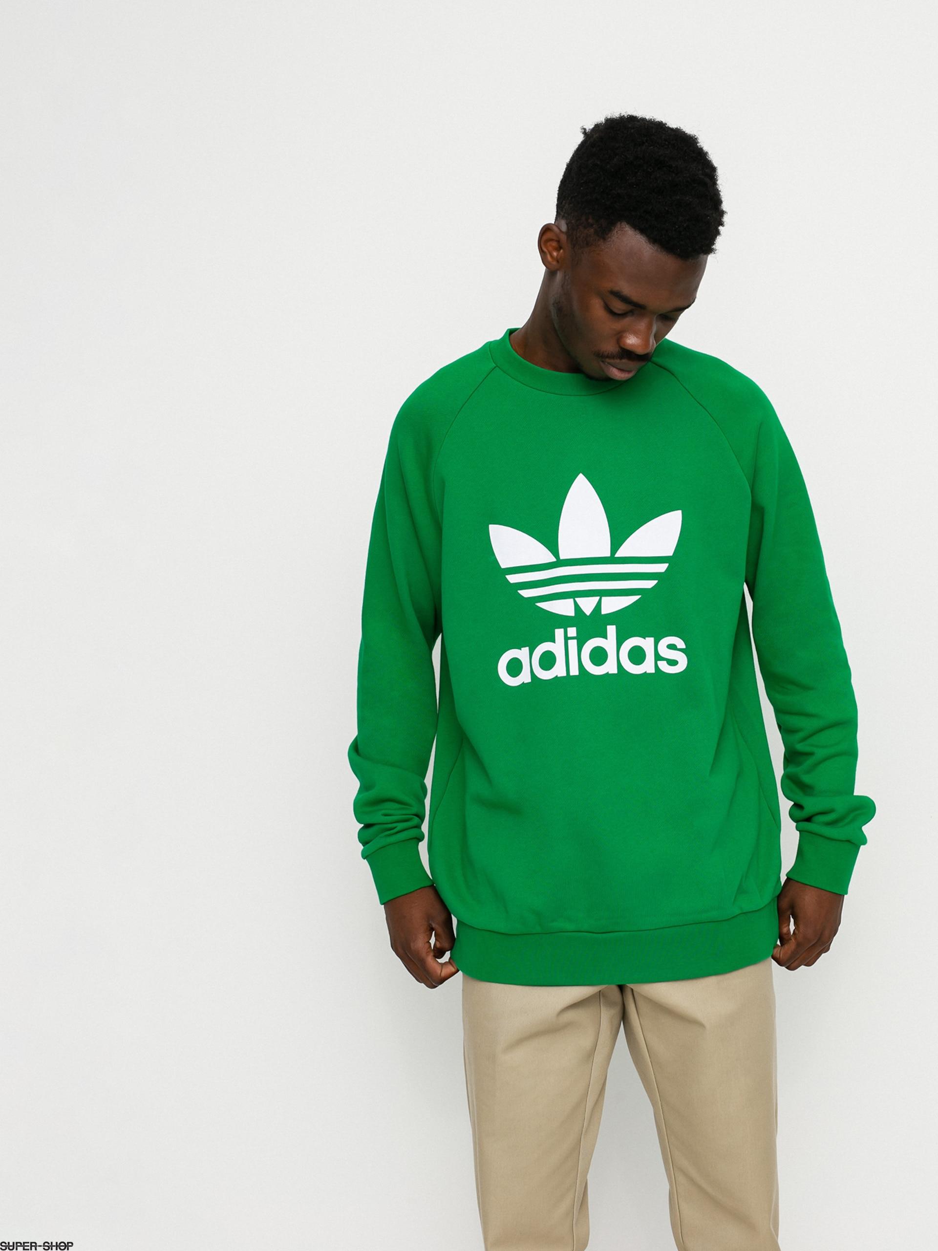 adidas Originals Trefoil Sweatshirt (green/white)