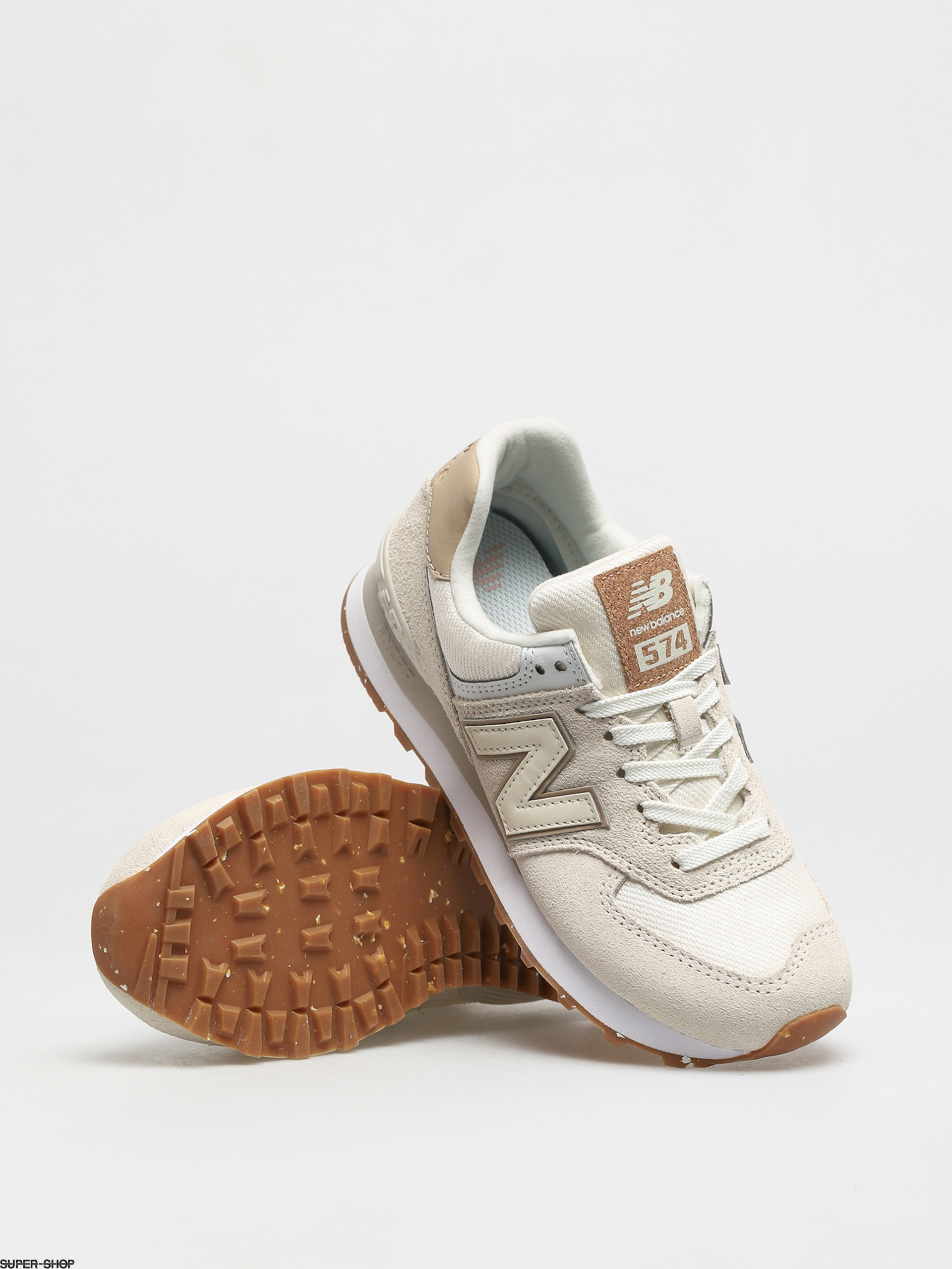New Balance 574 Shoes Wmn (angora)