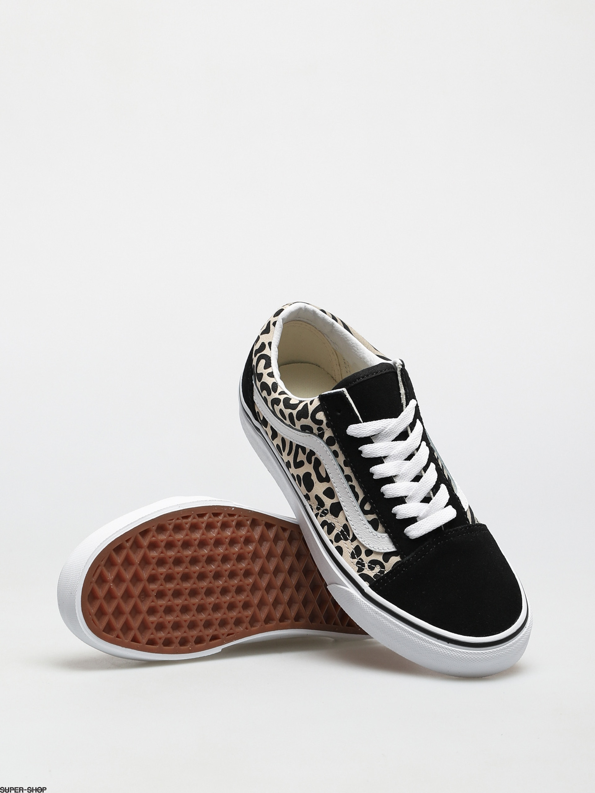 Vans Old Skool Shoes (safari multi/mix/tr wht)