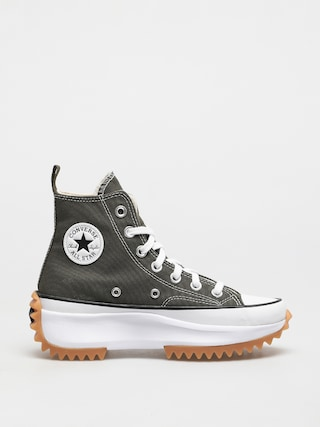 Converse Run Star Hike Shoes (olive/chocolate)