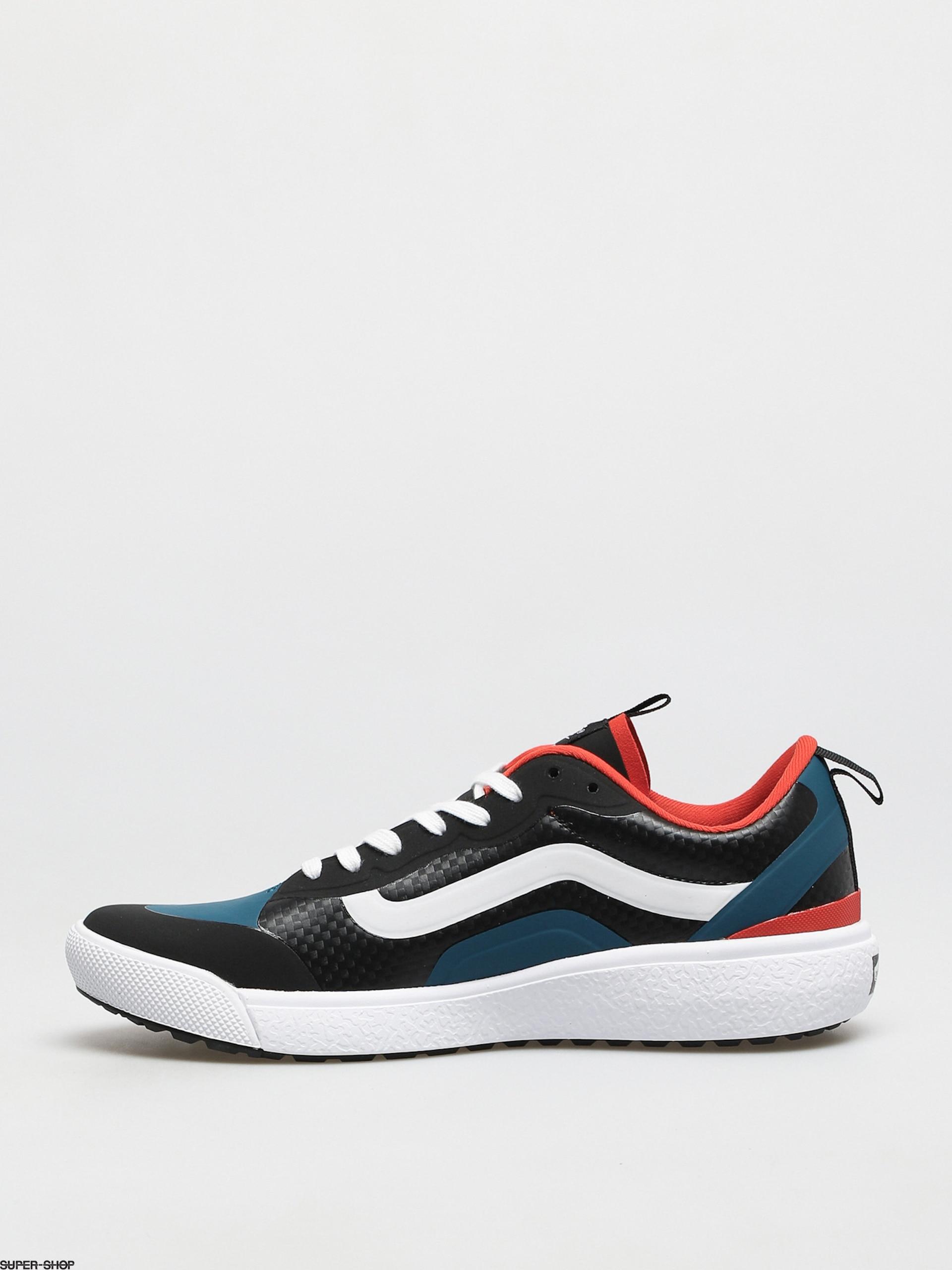 Vans Ultrarange Exo Shoes (carbon/blk/electric orng)