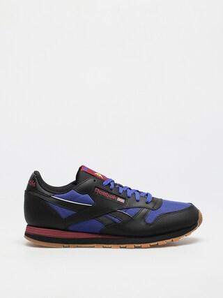 Reebok Cl Lthr Shoes (cblack/brgcob/punber)