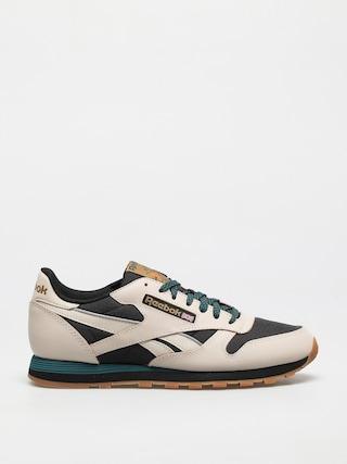 Reebok Cl Lthr Shoes (stucco/cblack/midpin)