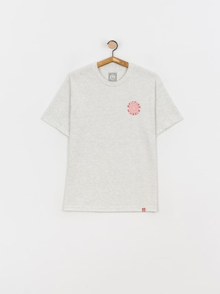 Spitfire Classic 87 Swirl T-shirt (ash w/red white prints)