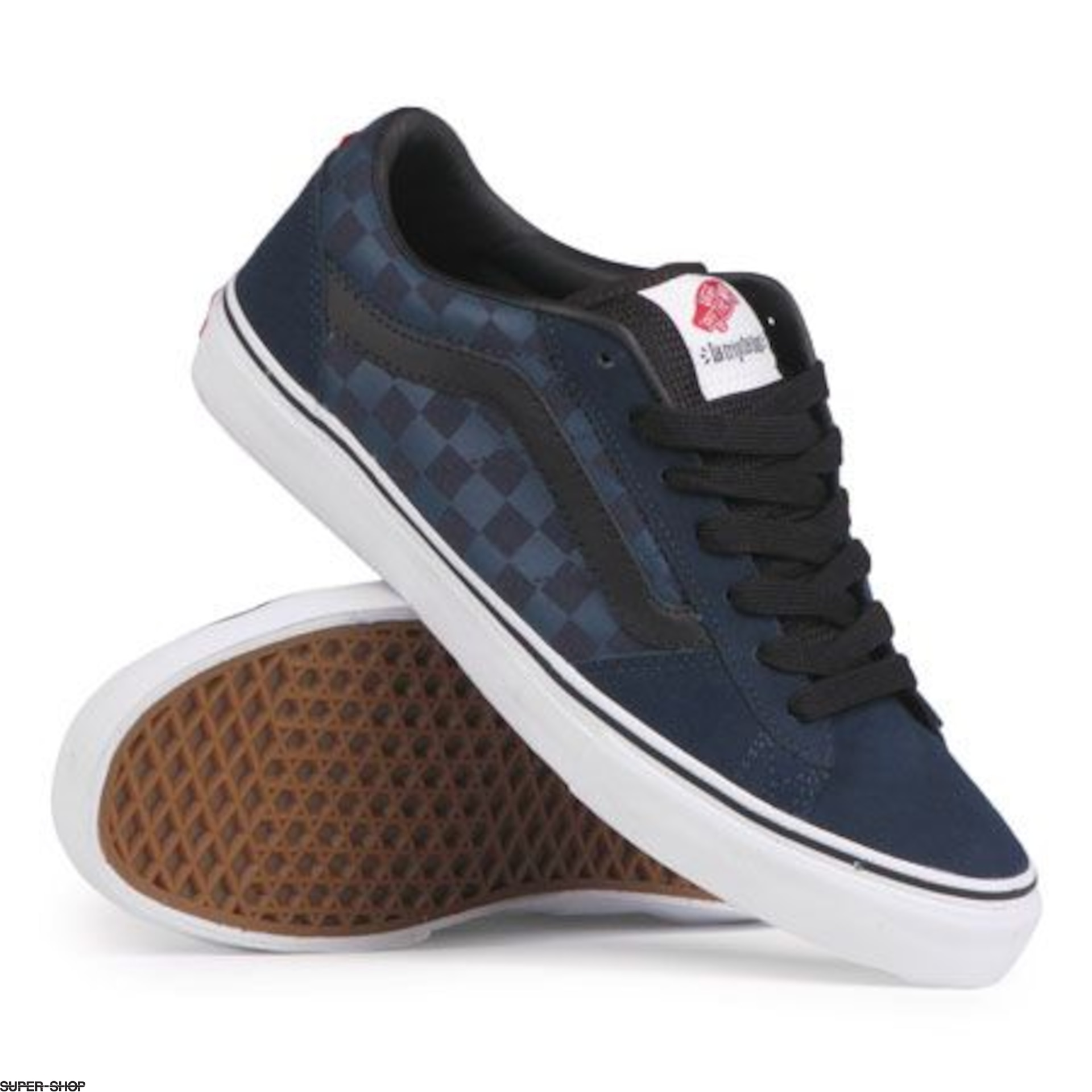 2dd5e935fac Vans Shoes La Cripta Dos (blue black white)