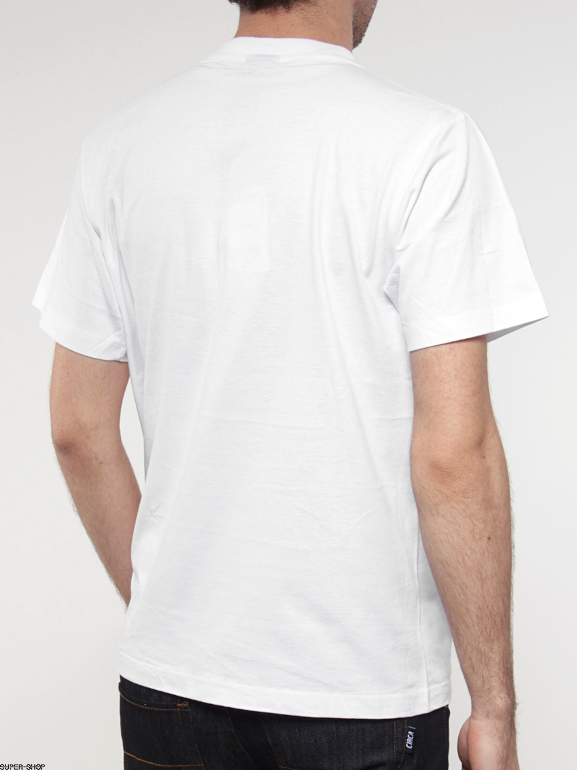 Smith39s t shirt model 22 white for T shirt template with model