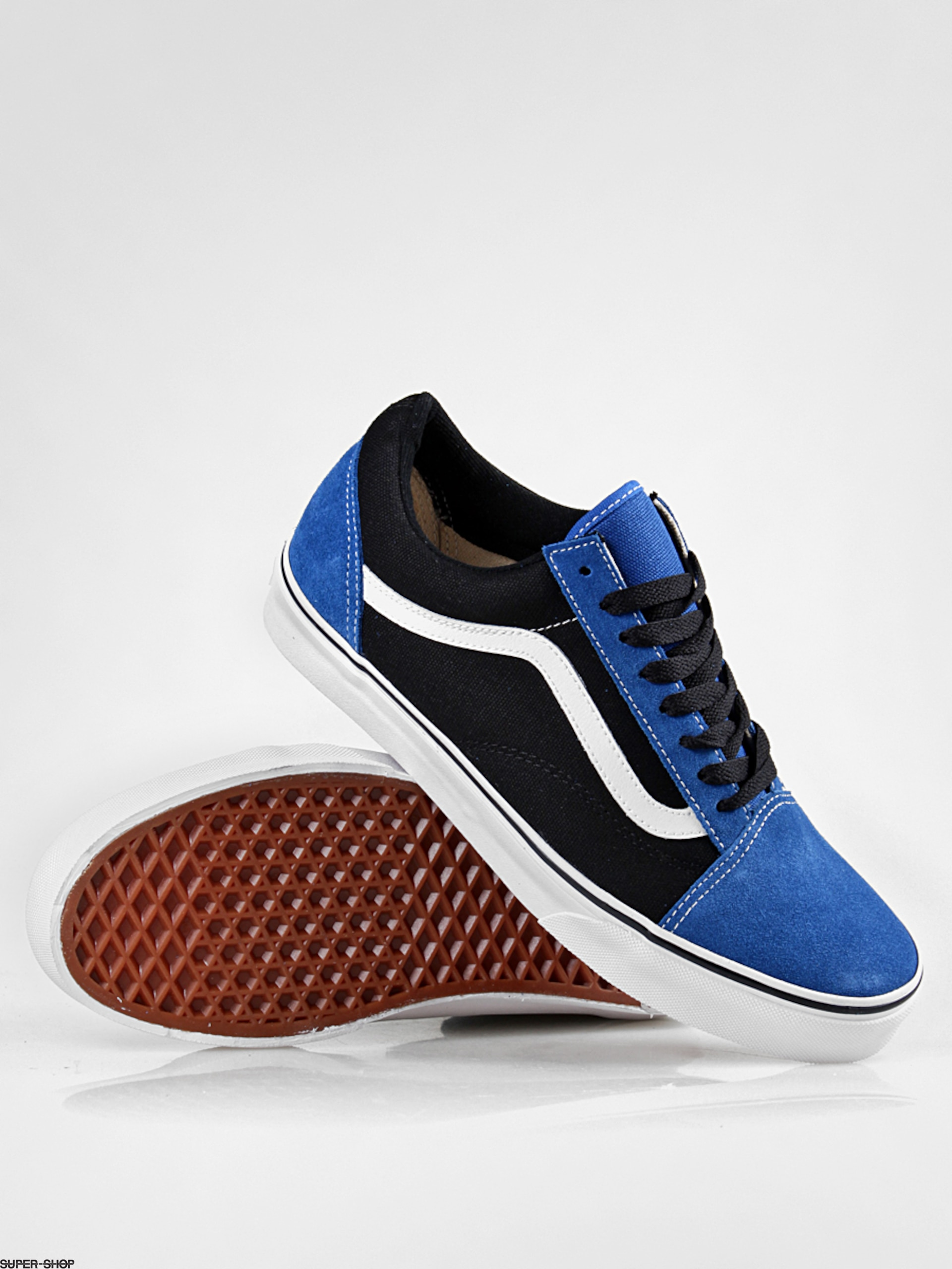 7f028ef2d43a Vans shoes Old Skool (nautical blue black)