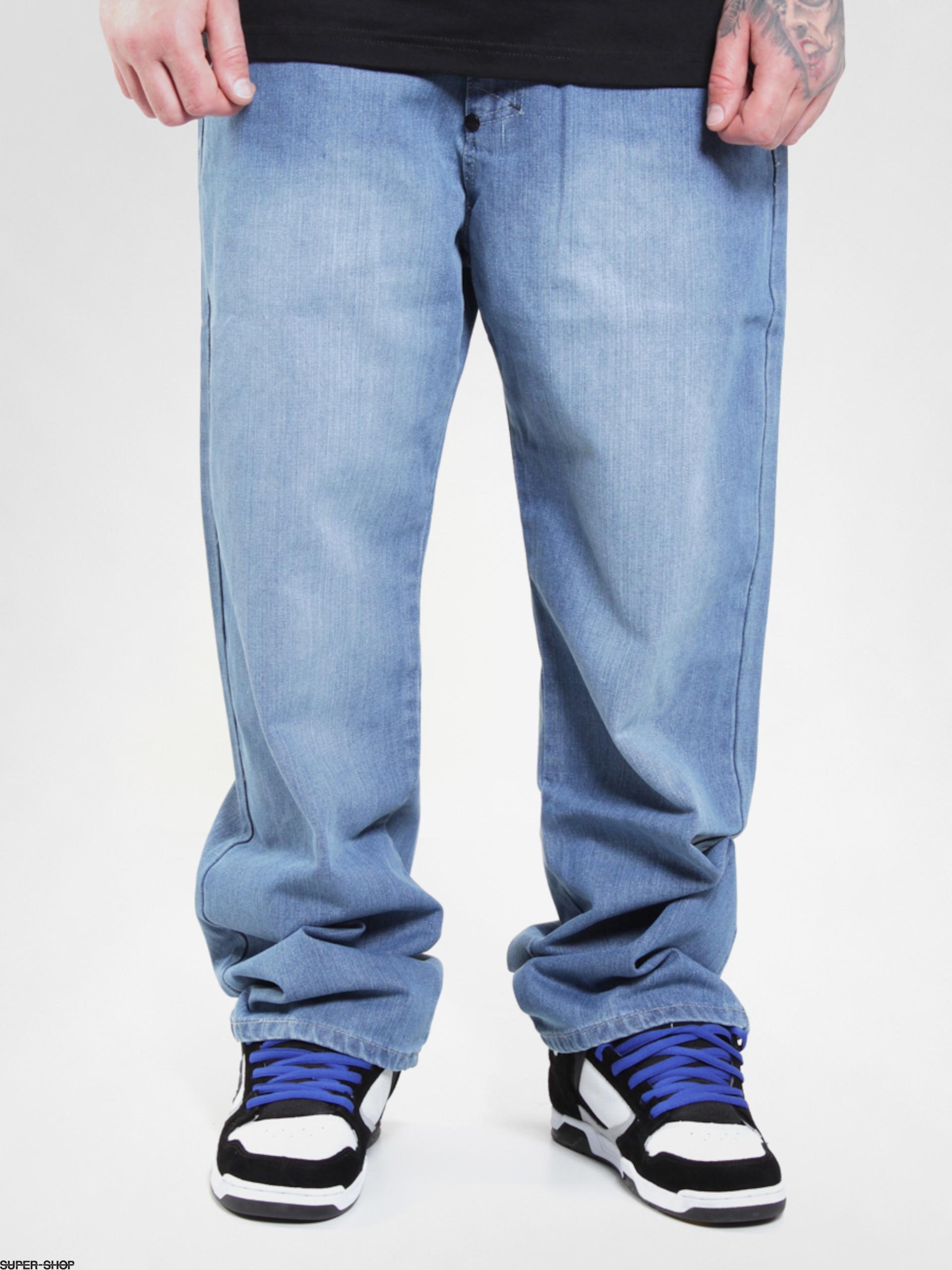 oryginalne buty ekskluzywne buty sprzedaż online MassDnm pants Mass Mamooth (jasno-blue)
