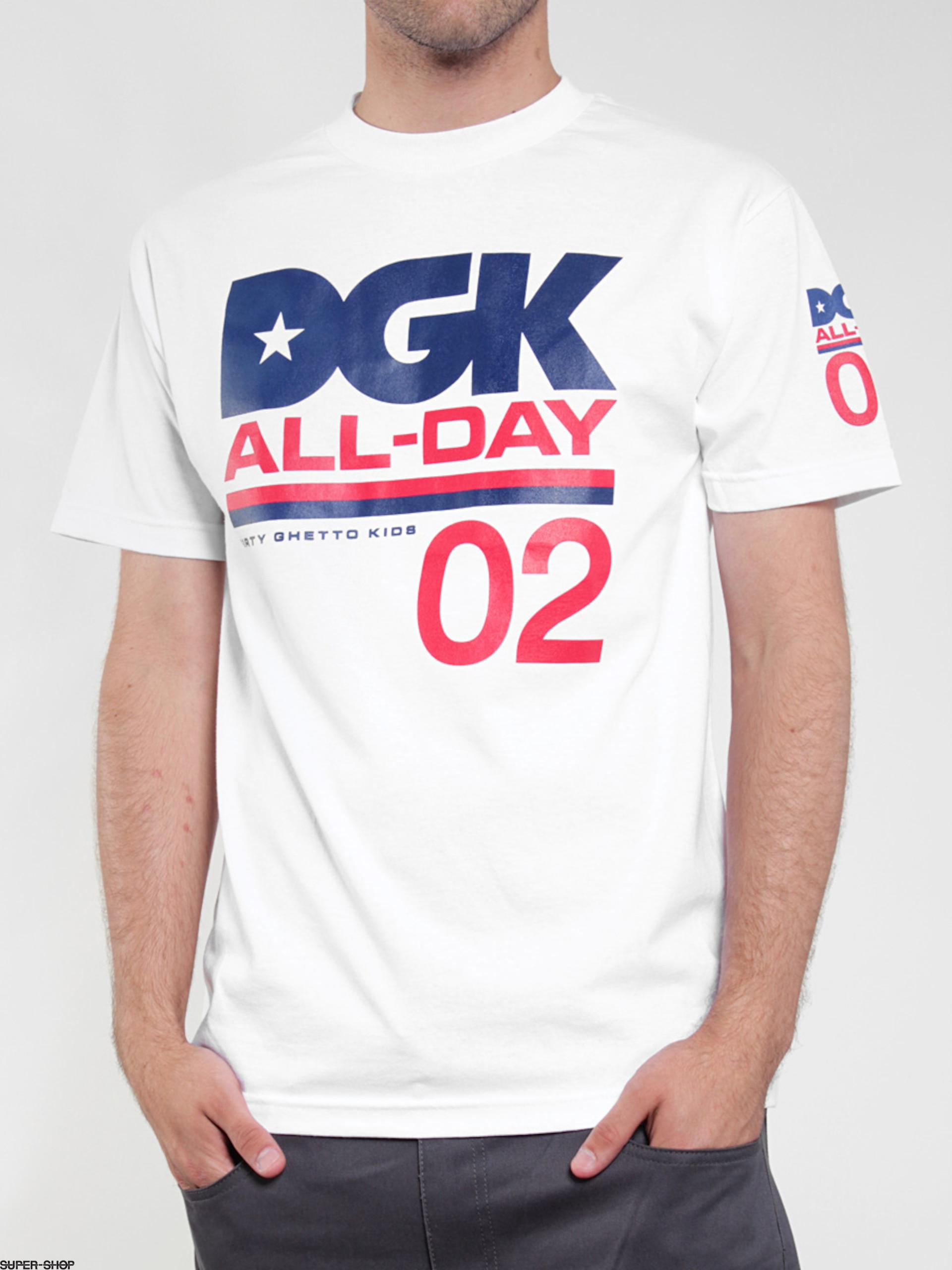 Dgk T Shirt All Day Sport Wht