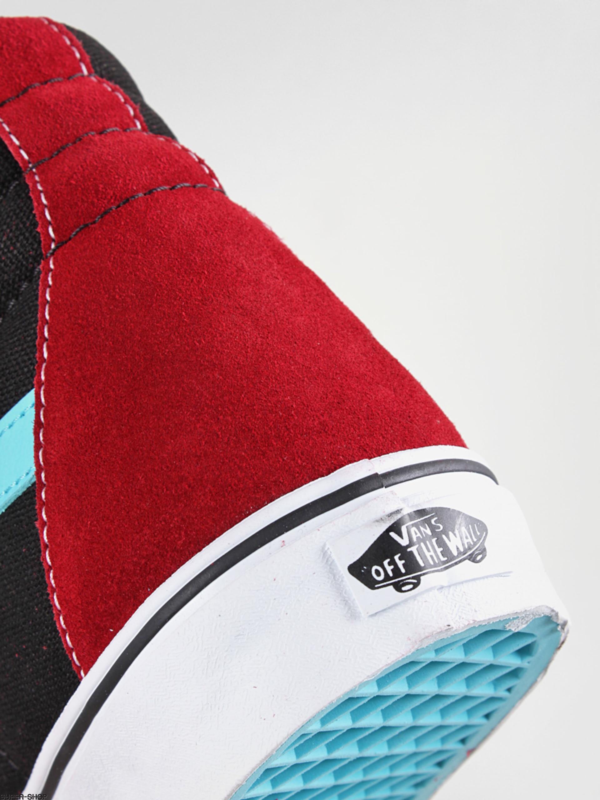 93df00577088 Vans shoes Sk8-Hi (suede scuba chili pepper)