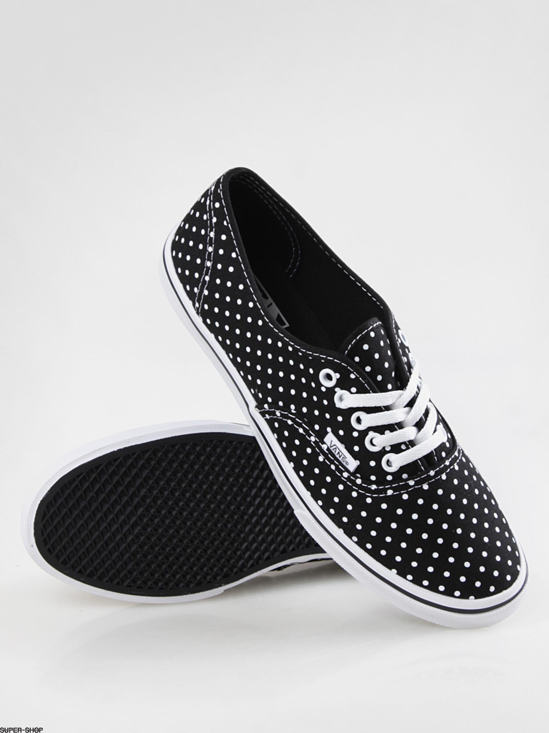 Vans shoes Authentic Lo Pro Wmn (polka dotblacktrue white)