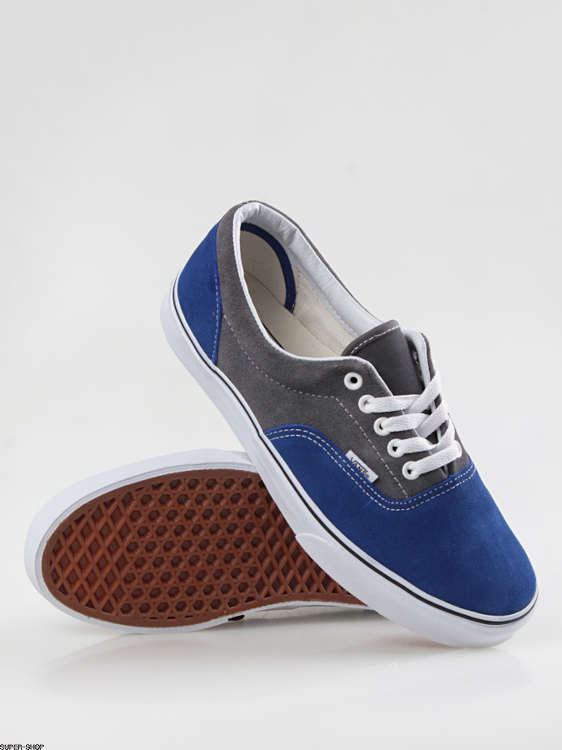 38ec15b8a98117 Vans shoes Era (2 tone suede blue pewter)