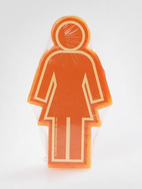 Girl Skateboard Wax (orange)