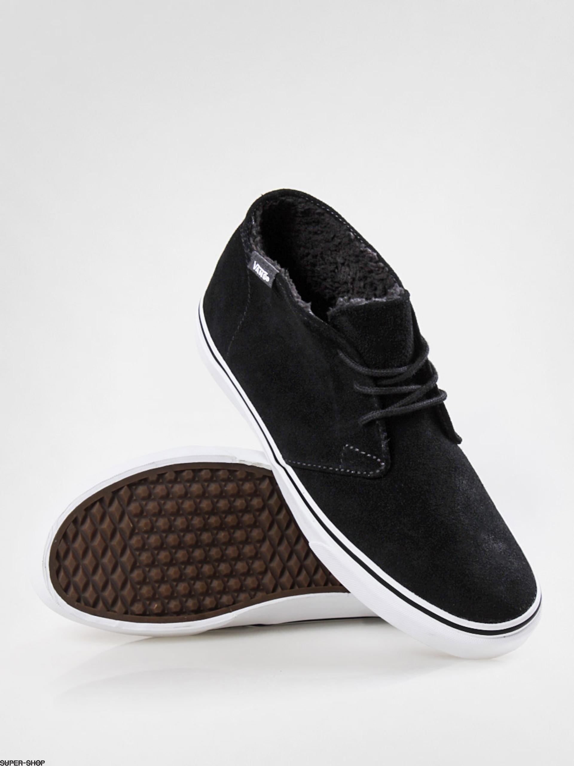 25ec9d6762 Vans shoes Chukka Decon (fleece lining black)