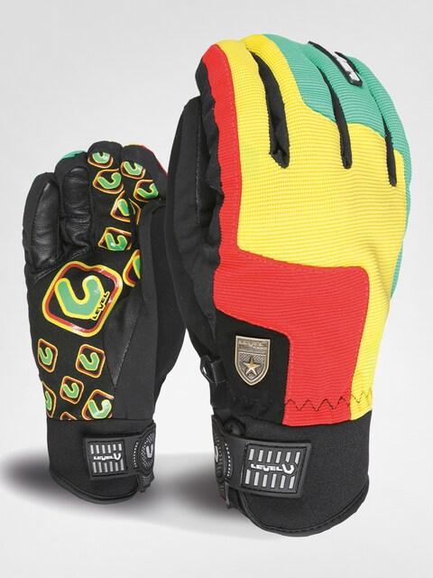 Level Gloves snowboardowe Suburban (pk rainbow)