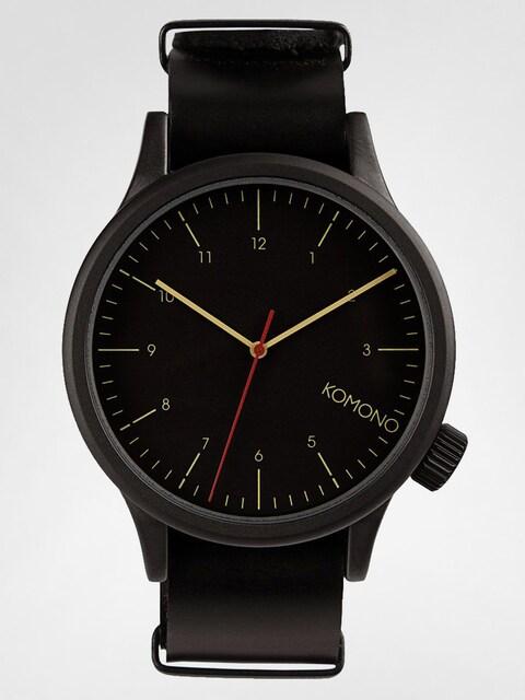Komono Uhr Magnus (black)