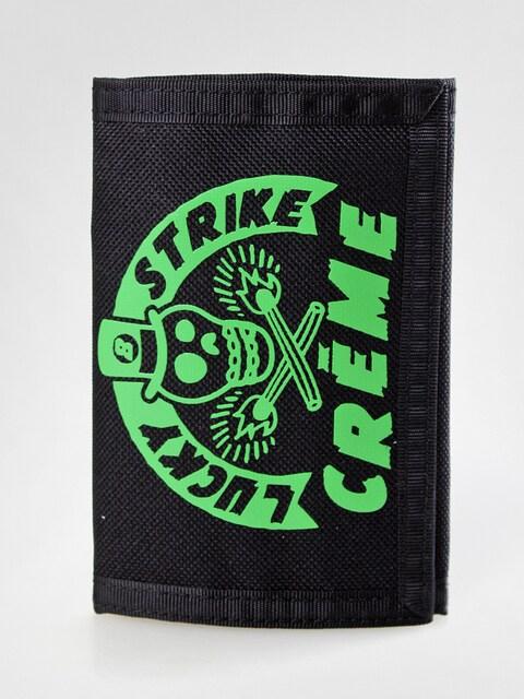 Creme Geldbörse 01 (black/green)