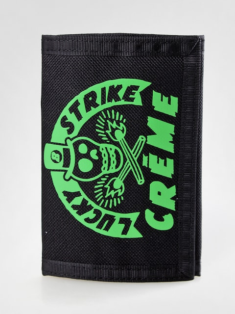Creme wallet 01 (black/green)