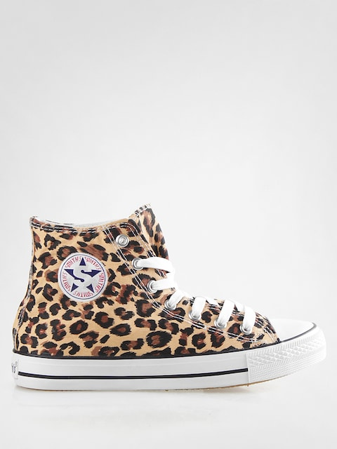 Smith's sneakers High (leopard)