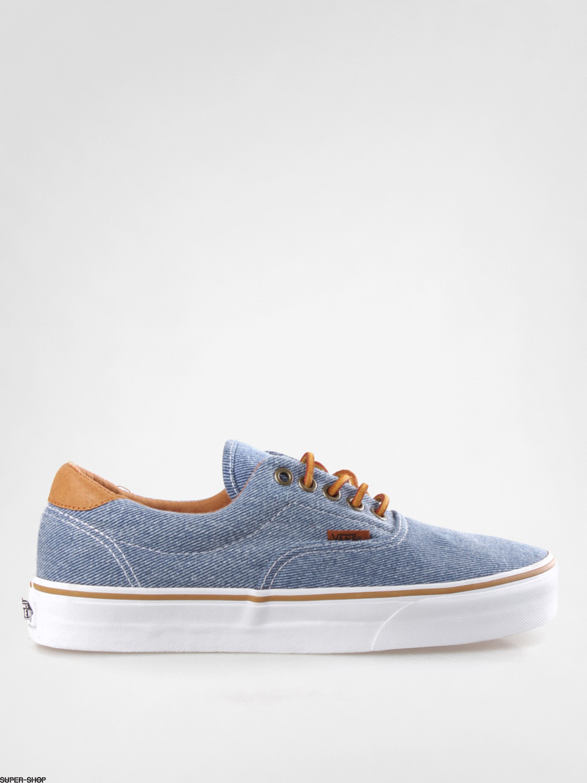 Vans shoes Era 59 VUC676V (washed twill blue) e74687d35