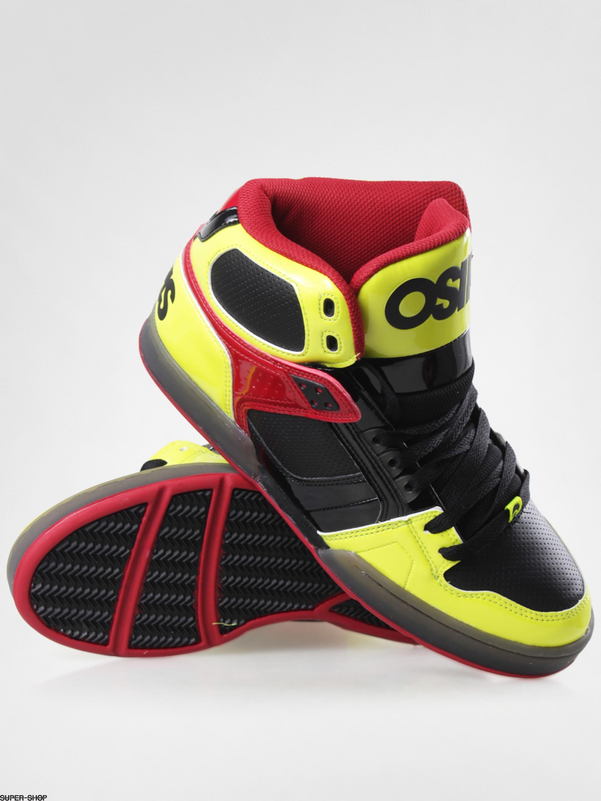 Osiris shoes NYC 83 (yellow/black/red)