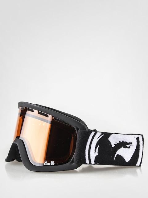 Dragon Goggle LiL D-m (coal/amber)