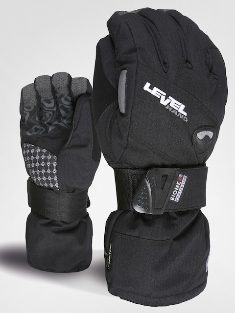 Level Gloves snowboardowe Half Pipe XCR Wmn (blk)