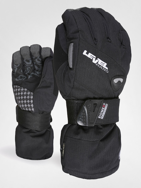 Level snowboard gloves Half Pipe XCR (black)