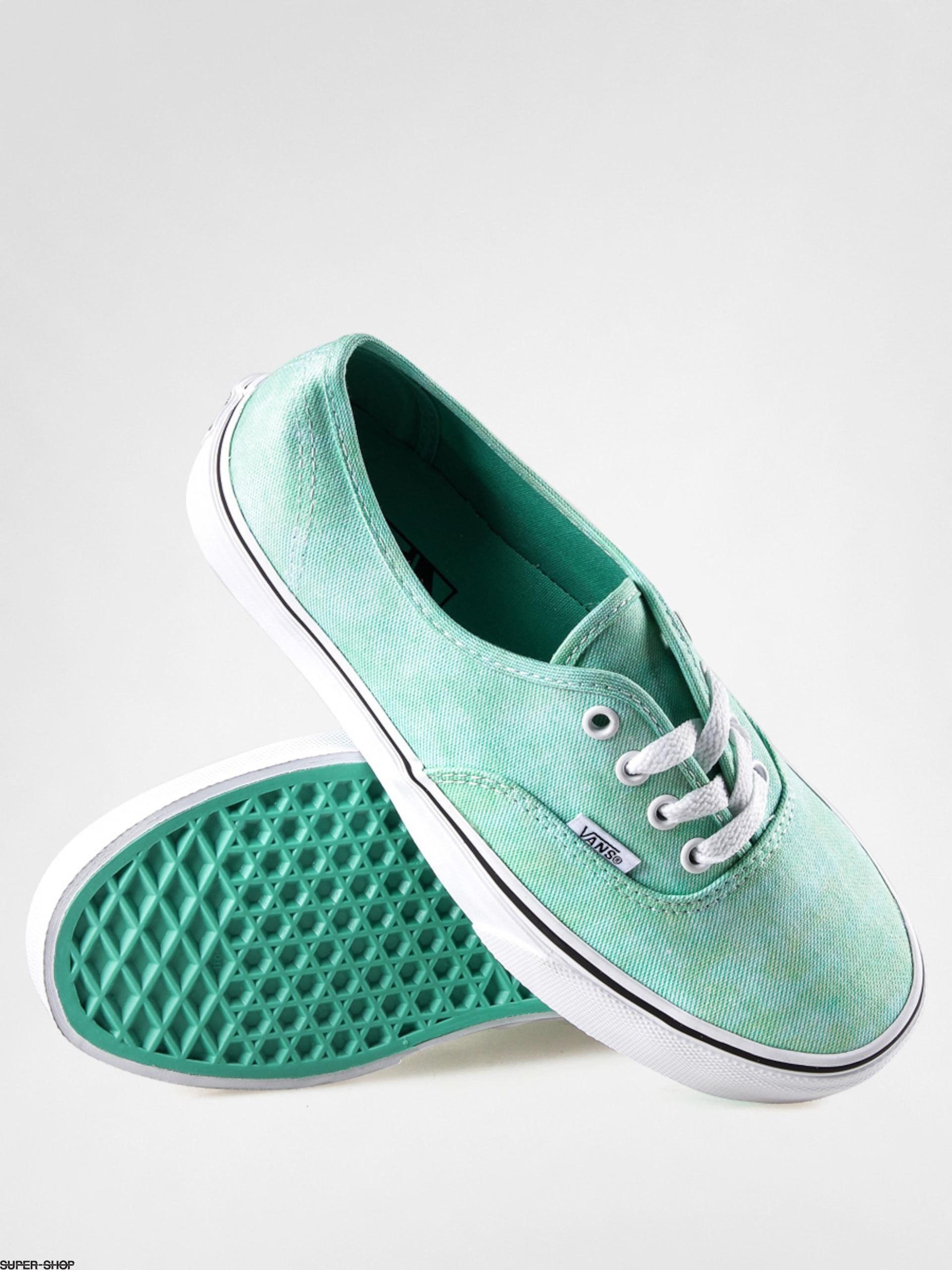 40eb5b81c14 Vans Shoes Authentic (sparkle mint)