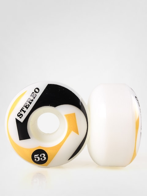 Stereo Wheels Arrow (yellow/black)