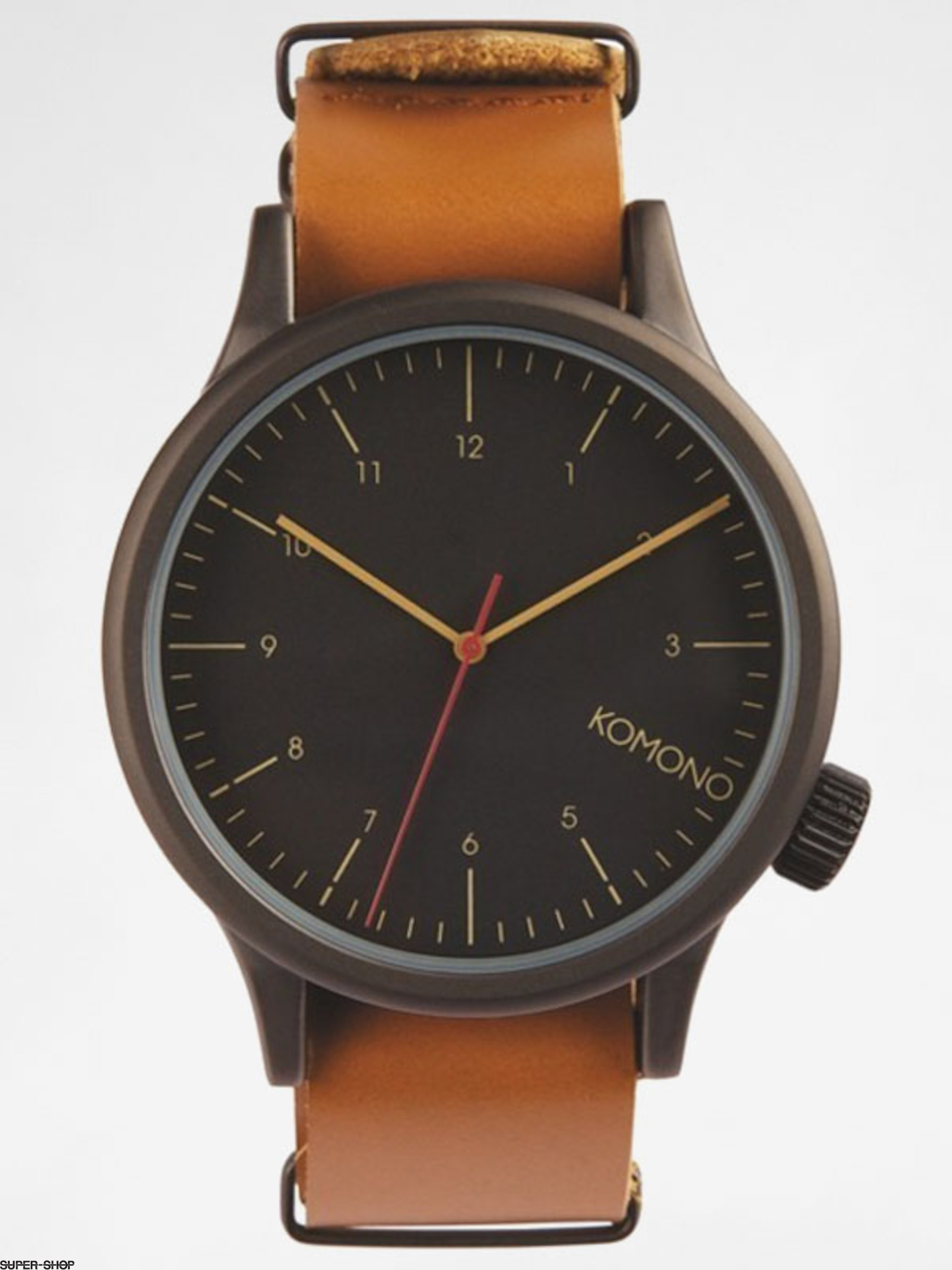 Komono Watch Magnus (black/cognac)