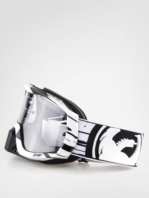 Dragon Cross Goggles Vendetta (paint drip/blk/wht clear)