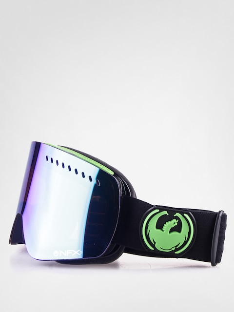 Dragon Goggles NFXS (jet/green ion+yellow blue ion)