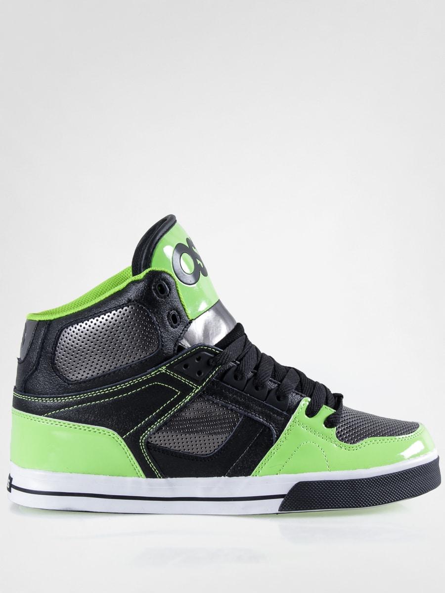 Osiris Shoes NYC 83 Vulc (black/gum/lime)