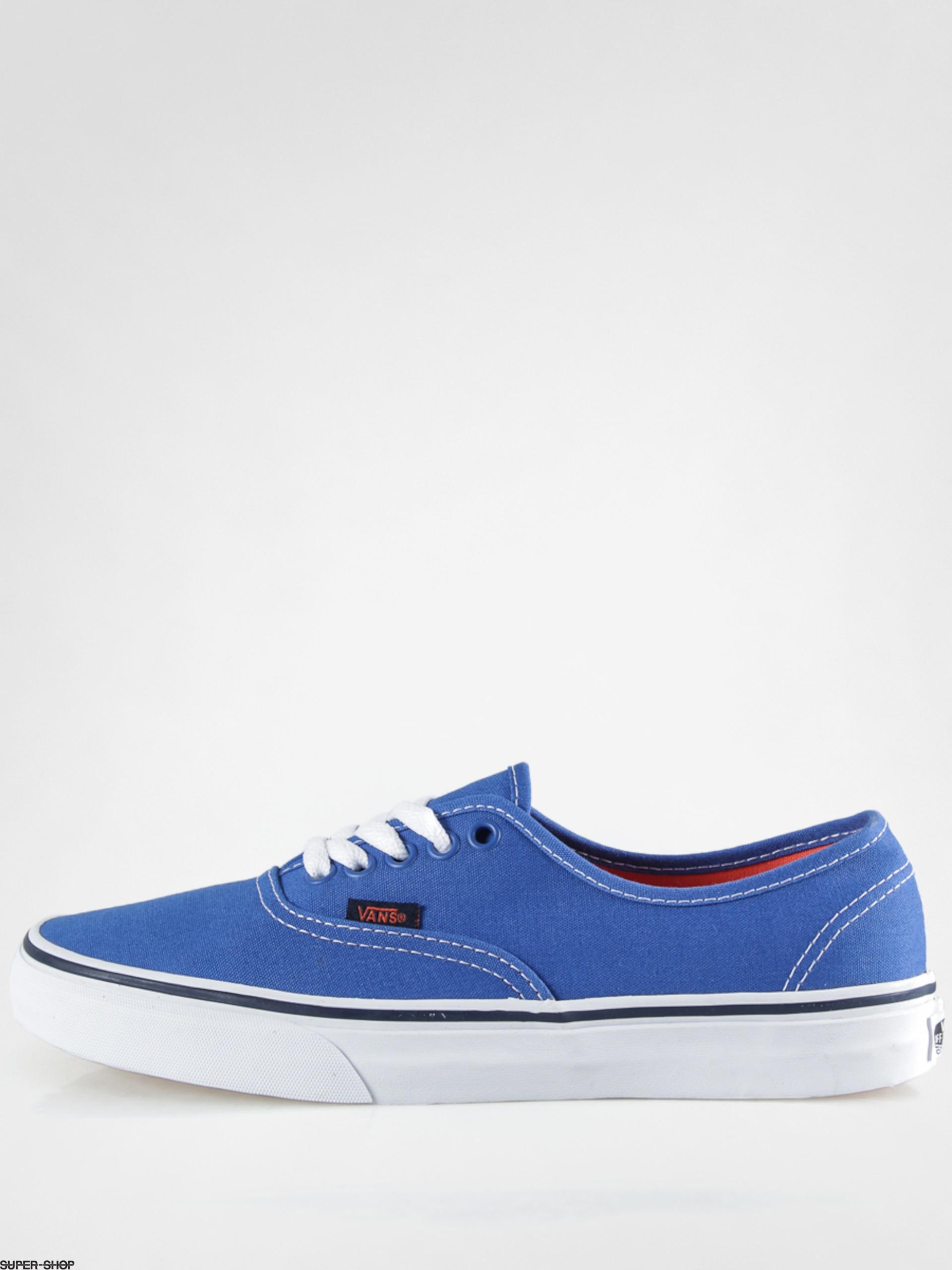 ea51b8e2c48 Vans Shoes Authentic (pop strong blue nasturtium)