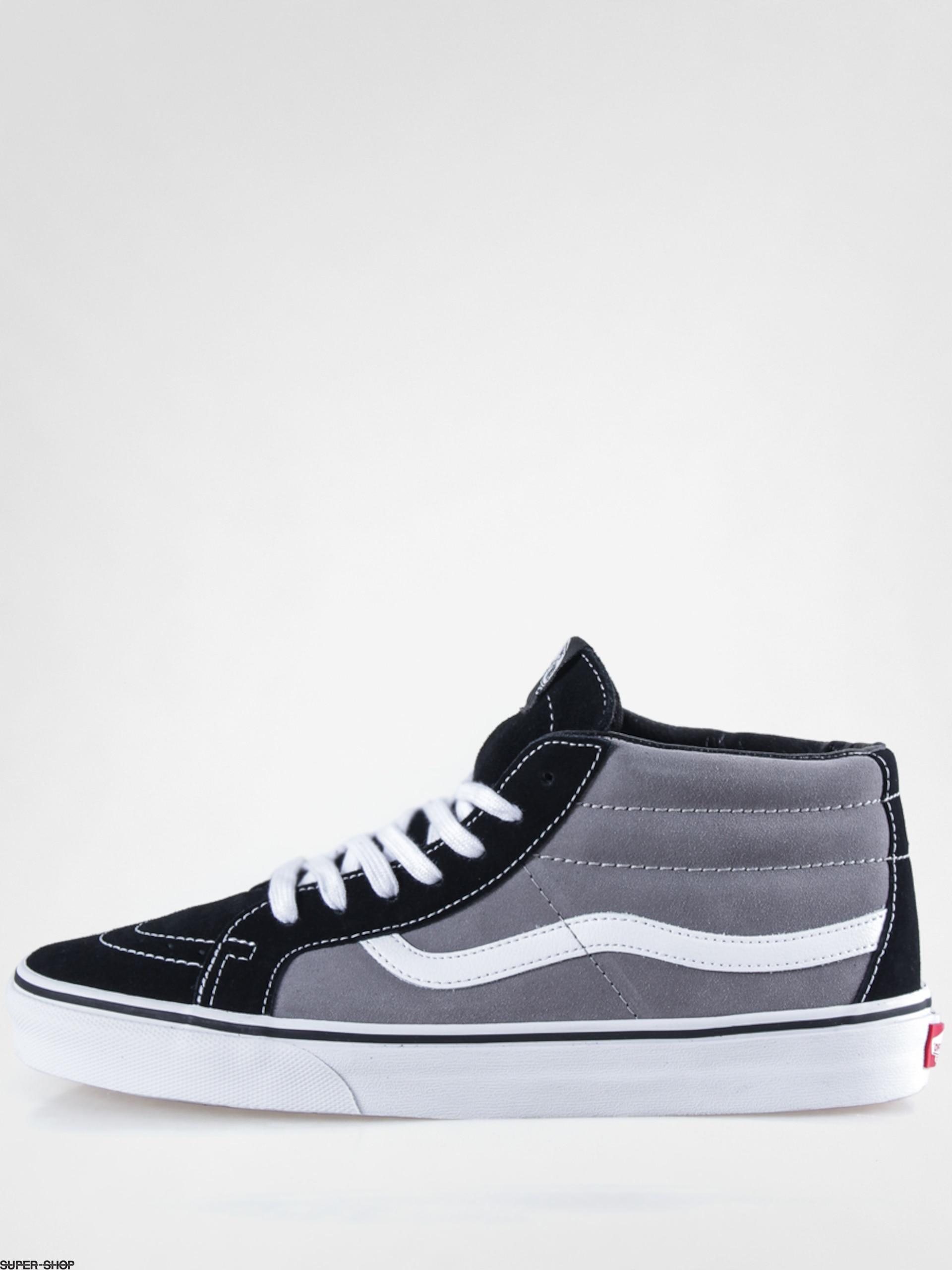 e6af866fc344a8 Vans Shoes Sk8 Mid Reissue (suede black frost grey)
