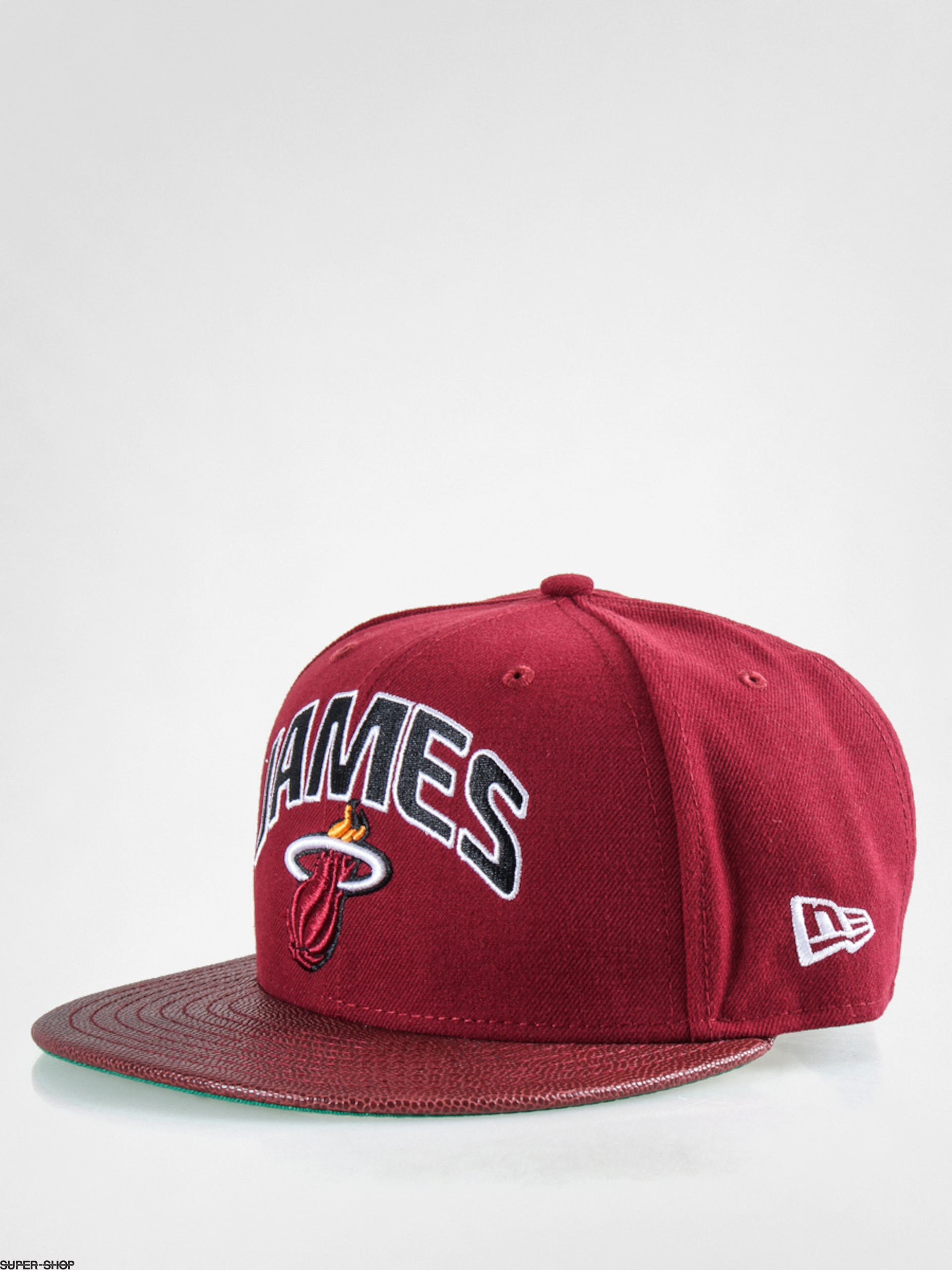 New Era Cap NBA Players Miami Heat James ZD (burgundy)