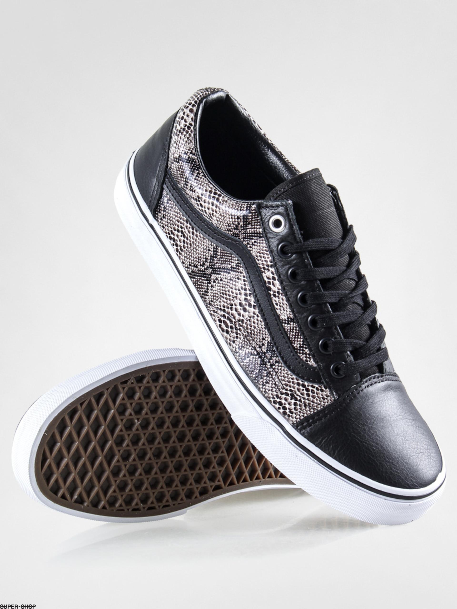 Vans Shoes Old Skool (snake/black/khaki)