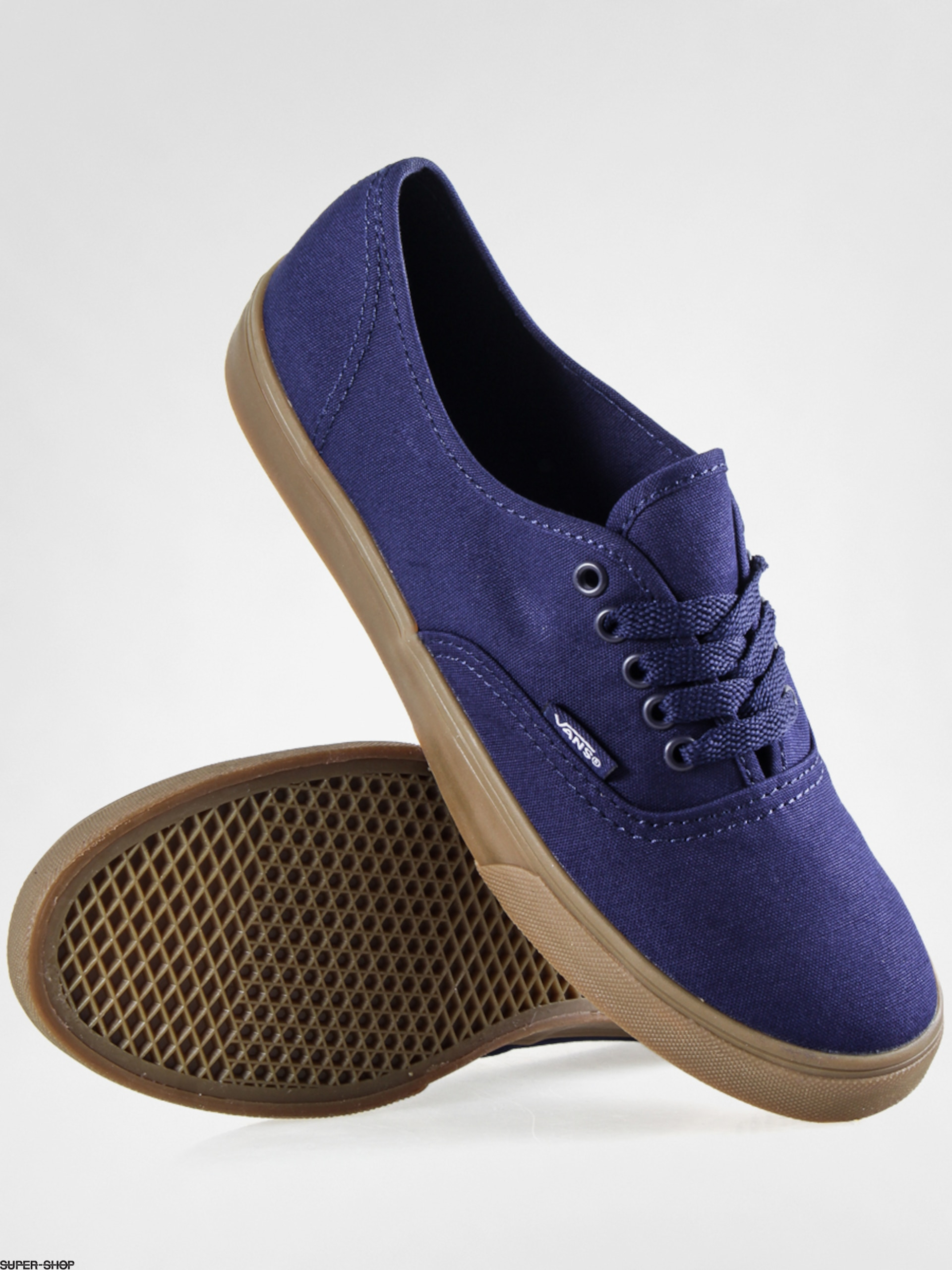 vans gum sole authentic lo pro