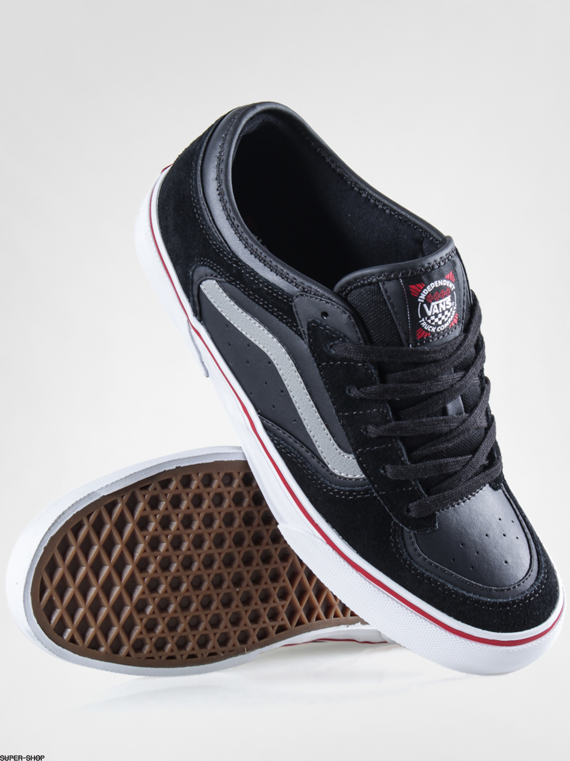 de3c5273ad1914 Vans Shoes Rowley Pro (independent black)