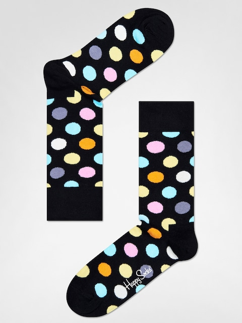 Happy Socks Socks Big Dot (black/multi)