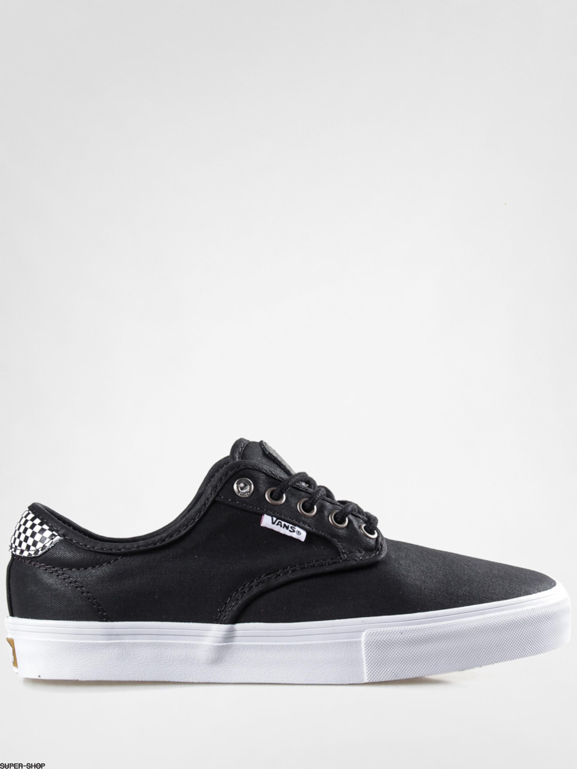 Vans Shoes Chima Ferguson Pro (waxed twill/blk/checkers)
