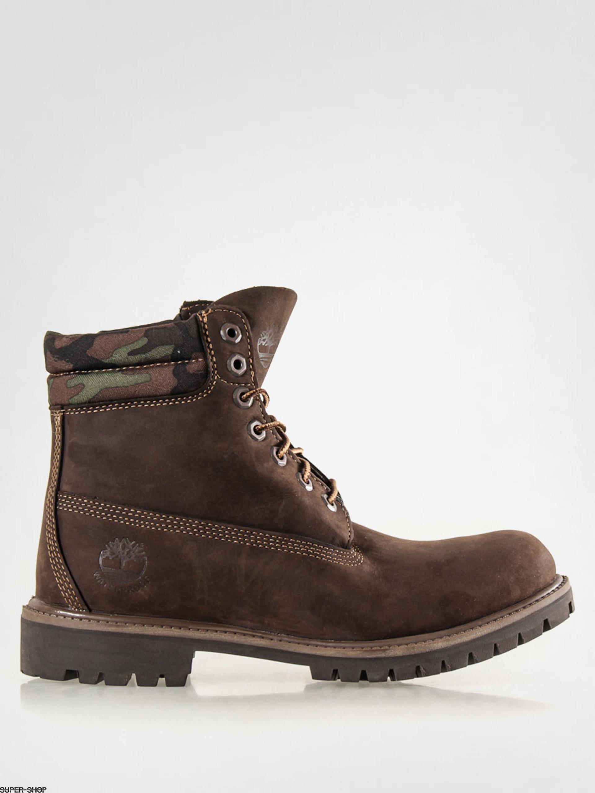 Timberland Shoes 6 In Premium FTB (red briar nubuck cam rcnvs)