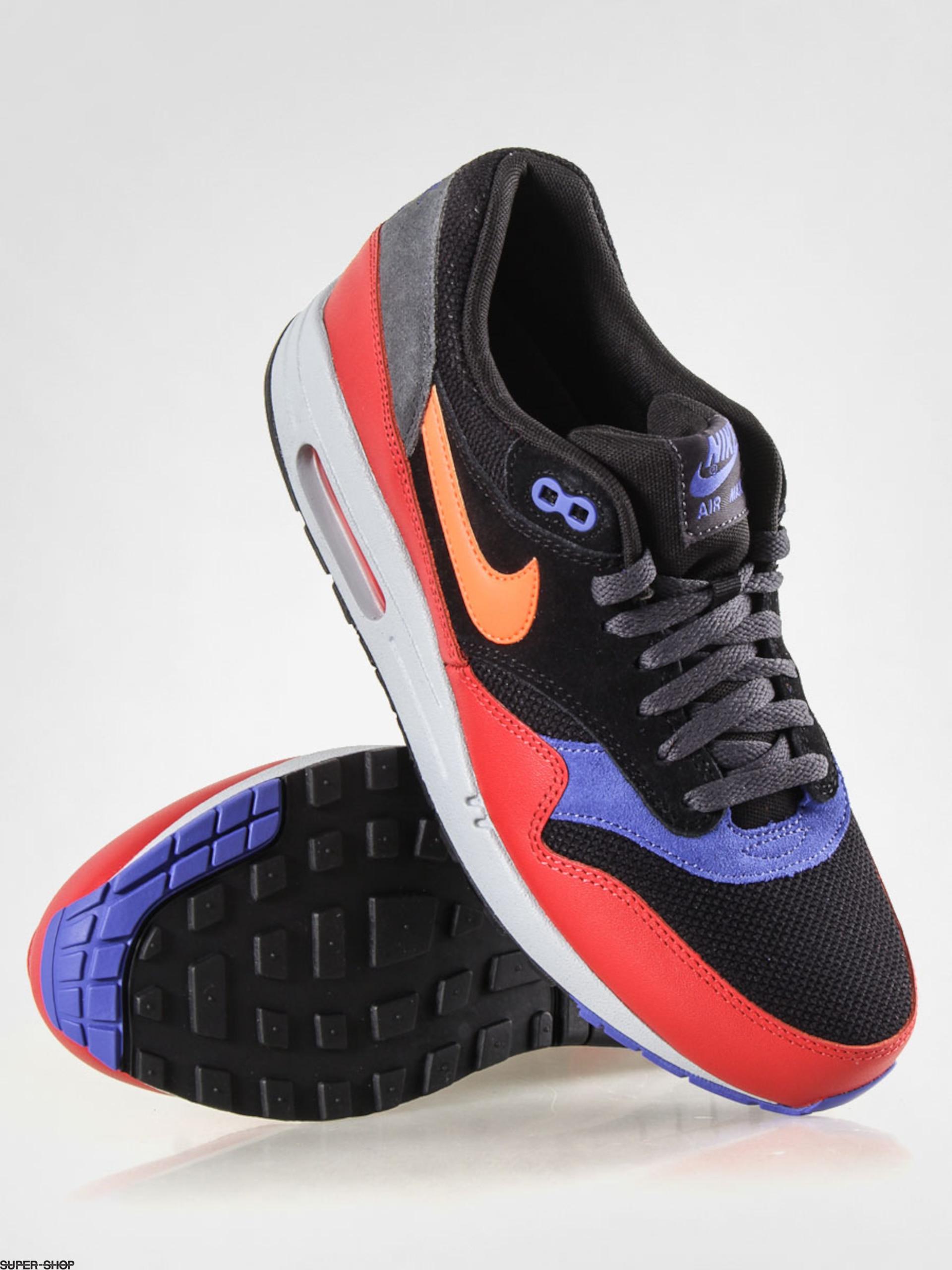 sports shoes 06d06 9ac35 ... denmark nike shoes air max 1 essential black hyper crimson red clay  8eb73 b21aa
