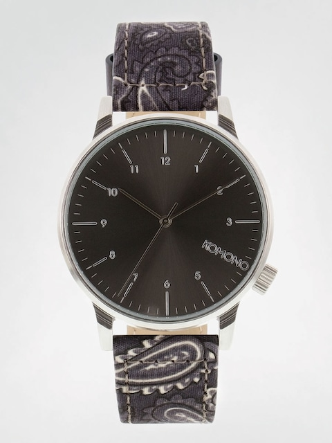 Komono Watch Winston (print black paisley)